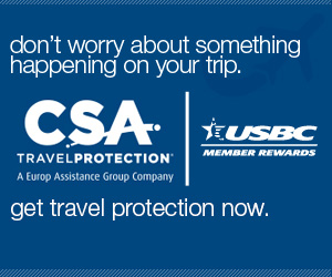 CSA Travel Protection for USBC Members | Don't worry about something happening on your trip. get travel protection now